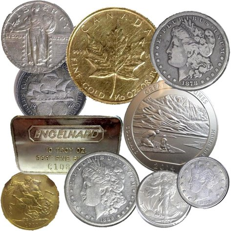 US & Foreign Gold & Silver Coins