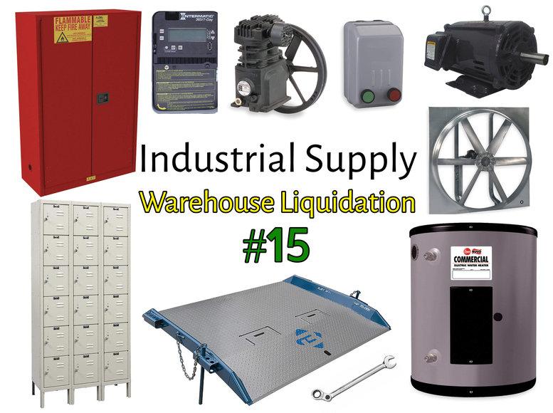 Industrial Supply Warehouse Liquidation #15