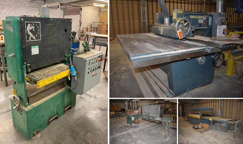 Wood Manufacturing Company Relocating: Excess Equipment