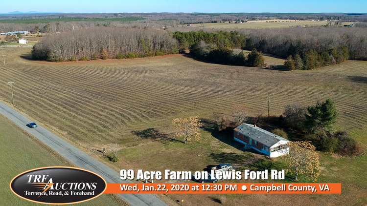 99 Acre Farm in Campbell County