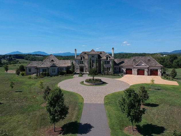 395 Acre Central Virginia Estate with Fabulous French Country Home