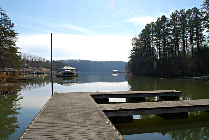 Lake Front Lot in Runaway Bay at Leesville Lake