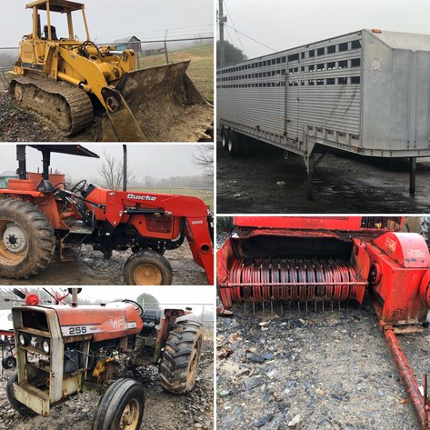 Online Only Auction for Farm Service Agency (FSA)