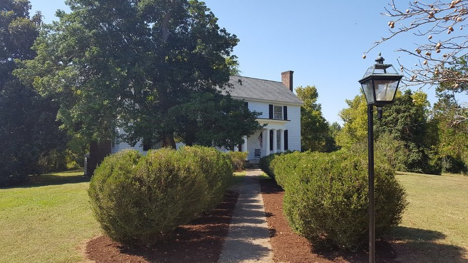 : The Pruitt Plantation Wonderful Historic Home on 25 Acres