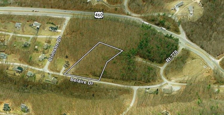 3 Acre Lot Minutes from VA Tech