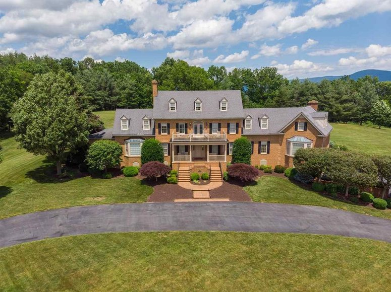 Magnificent 6 BR/5 BA Estate Home on 12.3 +/- Acres in Augusta County, VA