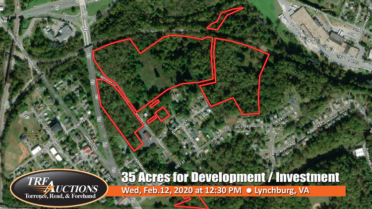 ABSOLUTE AUCTION: 35 Acres on Kemper St for Development / Investment