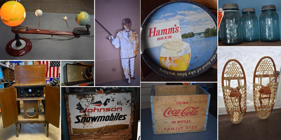Lifelong Collection of Signs, Telephones, Radios, Coca Cola Items Phase 5