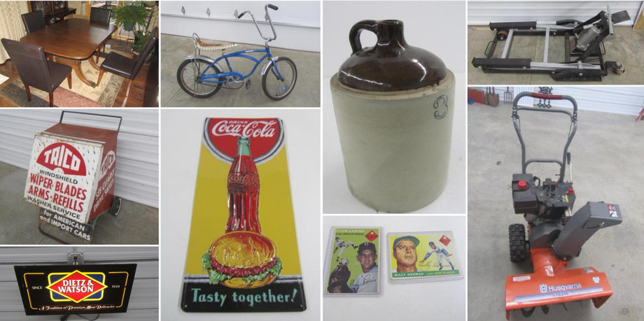 Ideal Corners Early February Consignment Auction