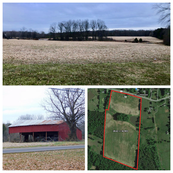 28.6 +/- Acres of Open Land w/Barn & Pond and Up to 3 Potential Division Rights--Fauquier County, VA