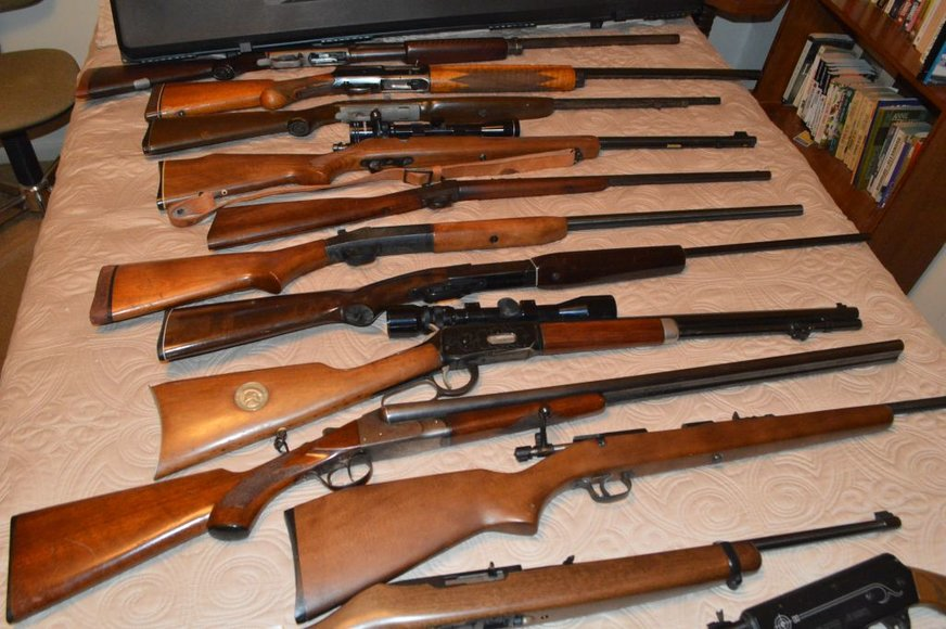 Gun Collection of Late Franklin Dover