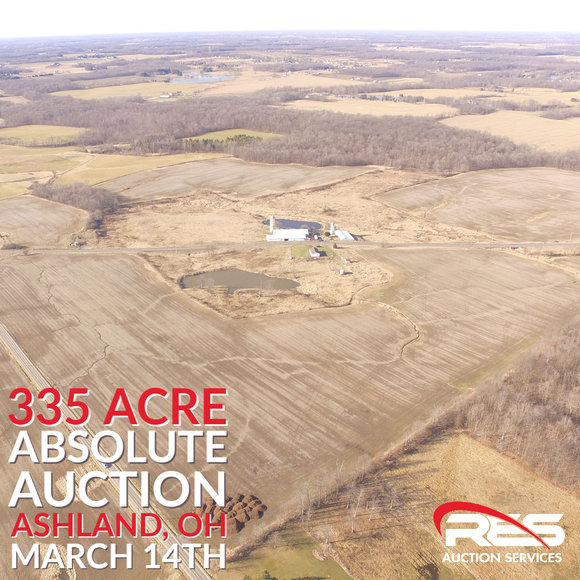 335 Acre Absolute Ashland County Land Auction