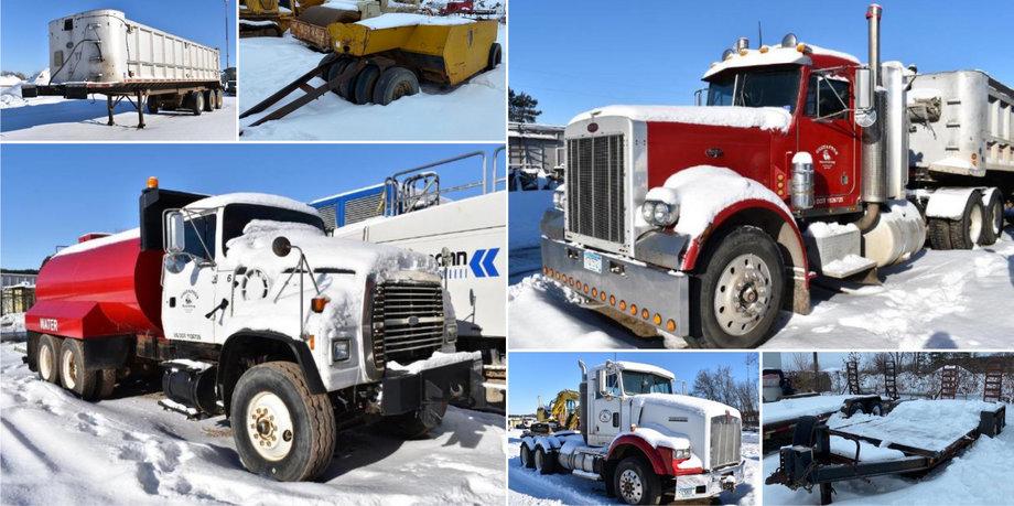 Construction Equipment: Trucks, Trailers & More