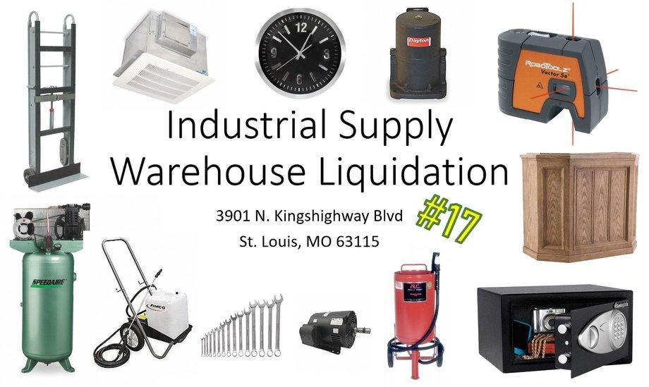 Industrial Supply Warehouse Liquidation #17