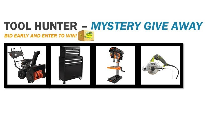 Tool Hunter - Mystery Lot Give Away