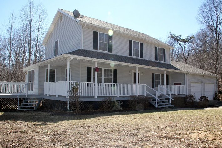 4BR Home on 54 Wooded Acres