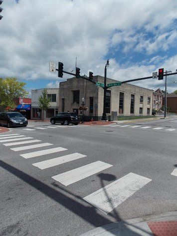 Prime Commercial Corner near VA Tech Campus