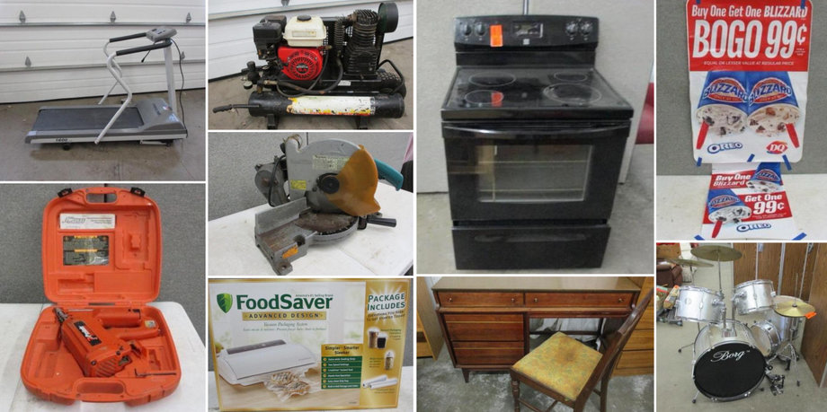 Furniture, Crafting Supplies, Lawn and Garden, Tools, Blow Molds and More
