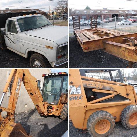Equipment Auction - Commissioner's Sale