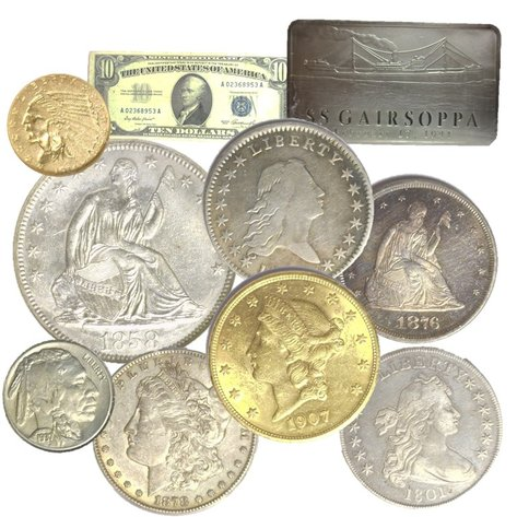 Rare/High Grade Gold & Silver Coins