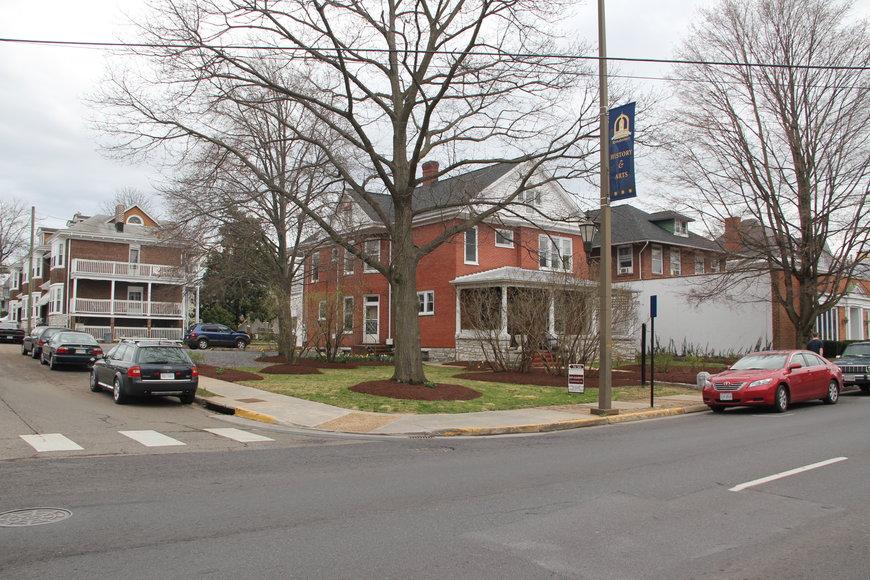 Main St in Harrisonburg