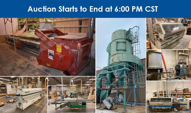 Accent Precision Wood Products Complete Liquidation Phase 1
