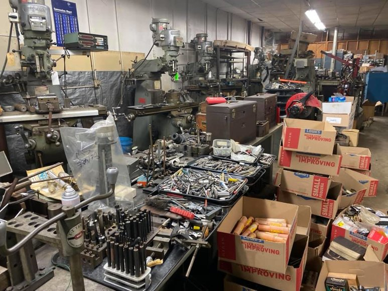 ESTATE AUCTION: Metal Fabricating Shop, Motorcycles, Parts & More!