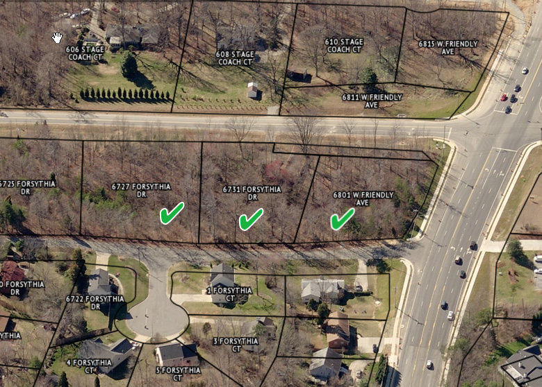 2.19 Acres + -West Friendly Ave