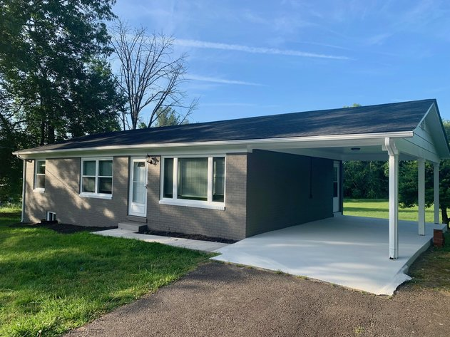 Completely Renovated 3 BR/2 BA Brick Home on 1.3 +/- Acres in Culpeper County, VA