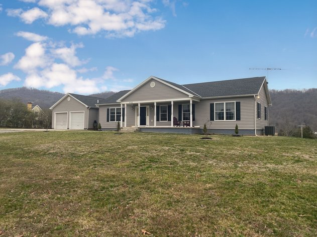 Move-In Ready 3 BR/2.5 BA Home w/Outbuildings on 3.9 +/- Acres in Madison County, VA