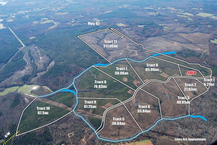 947 Acres in Mecklenburg