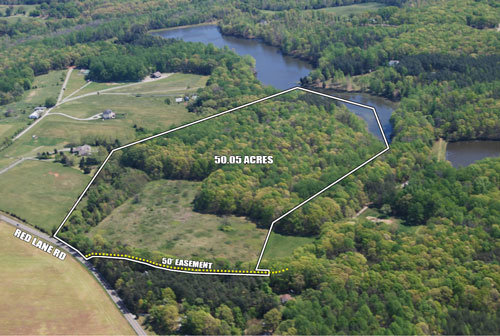 50 Acres in Powhatan