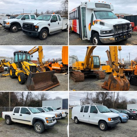 City of Greensboro Surplus Rolling Stock Auction - POSTPONED - New Date Coming Soon