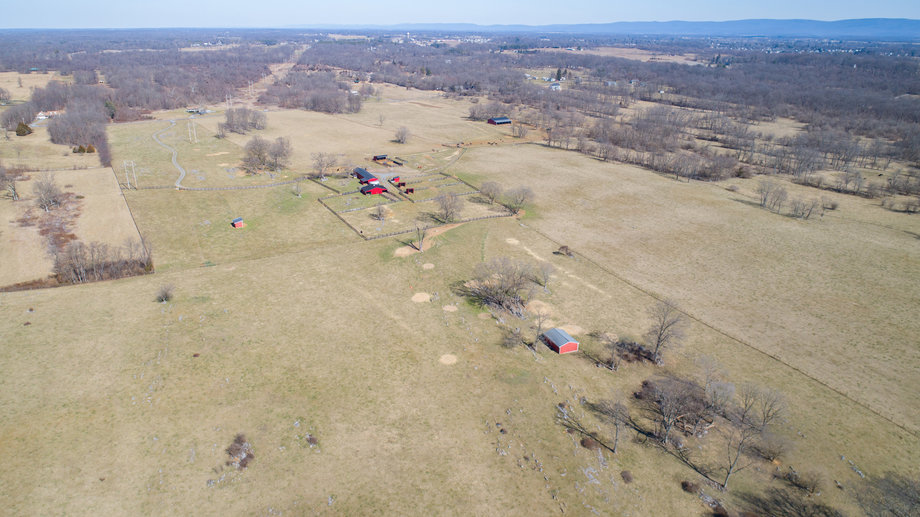 105 +/- Acres of Farm Land w/Outbuildings, Fencing, Waterers & More!!--Clarke County, VA