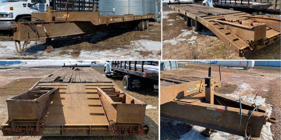 2000 Towmaster T-40 Deck Over Trailer