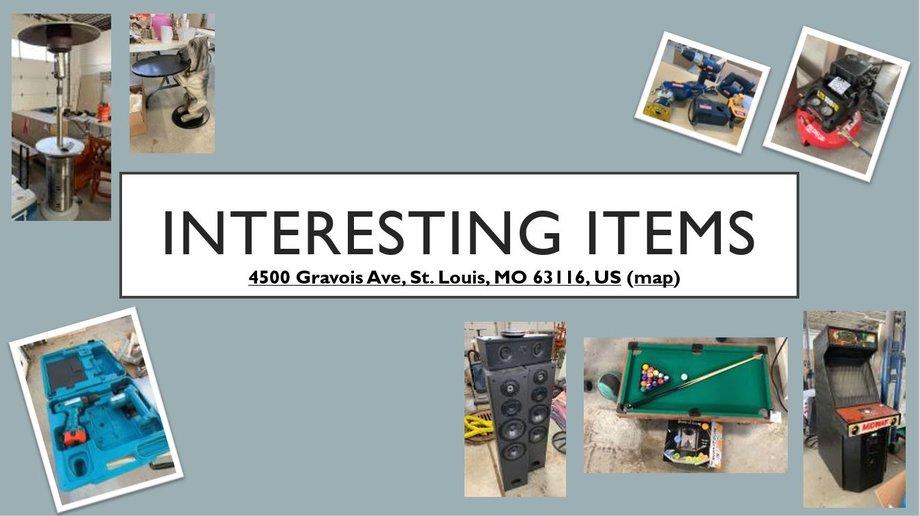 Interesting Items - Gravois