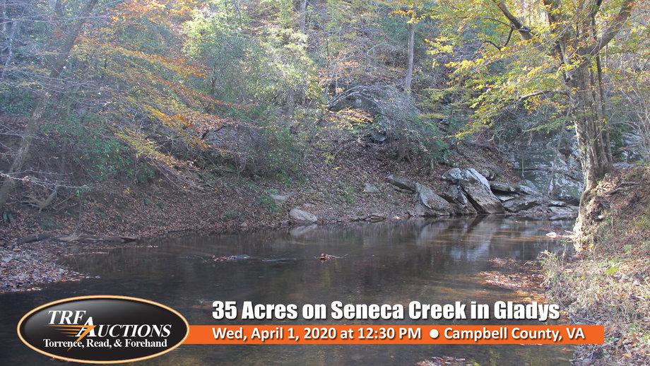 35 Acres on Seneca Creek in Gladys
