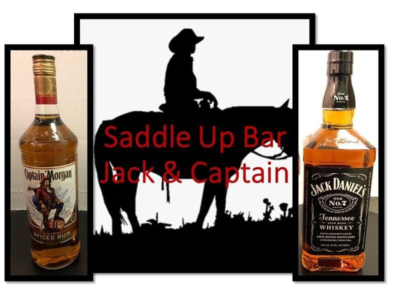 Saddle Up Bar - Stock Up on Jack and Captain!