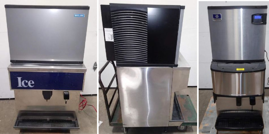(2) 2014 Monitowoc Countertop Ice Machines