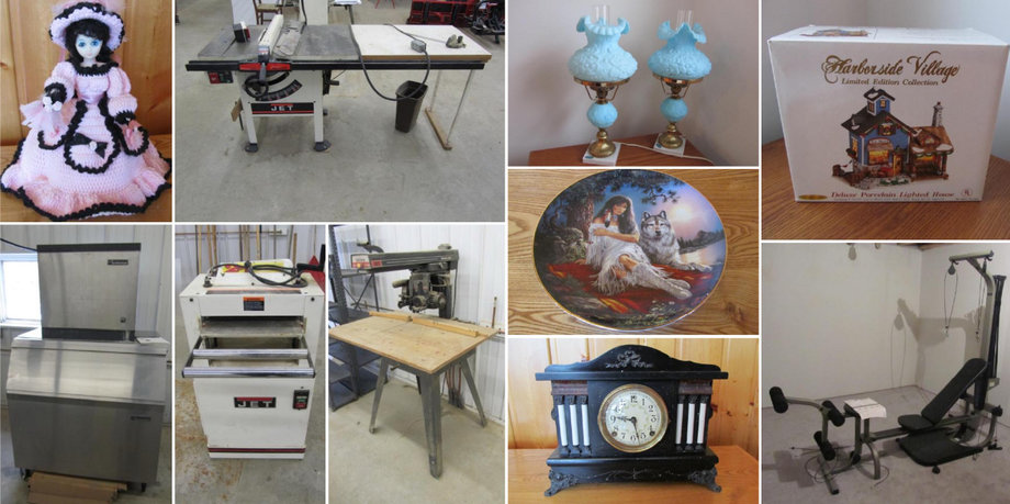 Kevin and Susan Larson Moving Sale, Hackensack, MN
