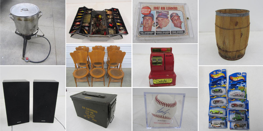 Ideal Corners Early April Consignment Auction