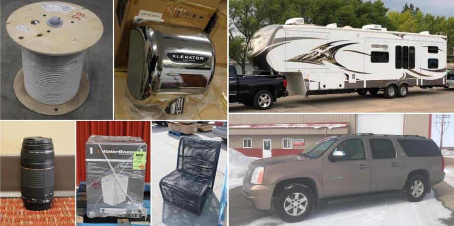 2015 Chevrolet Silverado, 2013 Montana Mountaineer, 2007 GMC Yukon, Yale Forklift, and More!