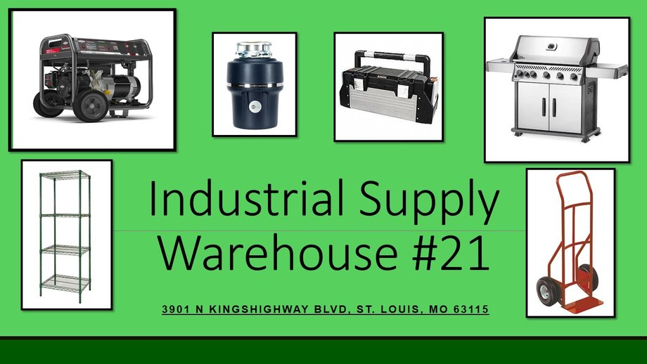 Industrial Supply Warehouse #21