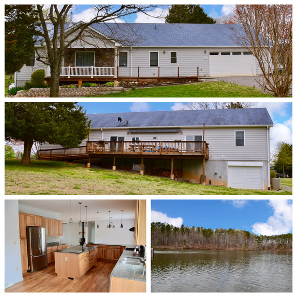 Immaculate 3 BR/2 BA Home on .97 +/- Acre Lot in The Bluewater Lake Anna Development--ONLINE ONLY BIDDING!!