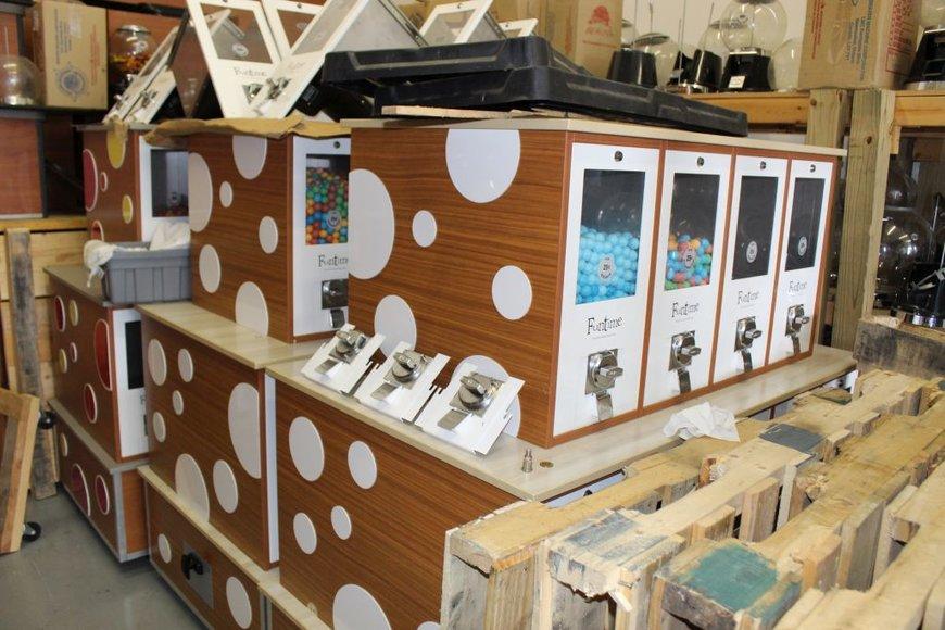 Liquidation of Vending Machines, Forklift, Ford Van & Pallet Racking