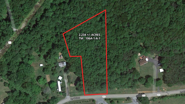 2.2 +/- Acre Wooded Lot in Rockbridge County, VA--ONLINE ONLY BIDDING!!
