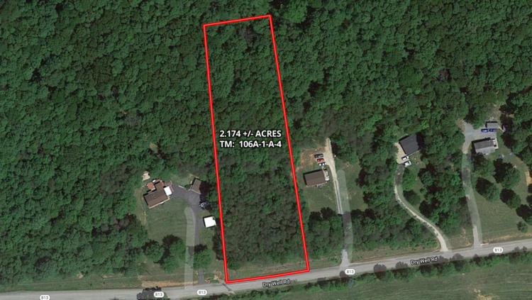 2.1 +/- Acre Wooded Lot in Rockbridge County, VA--ONLINE ONLY BIDDING!!
