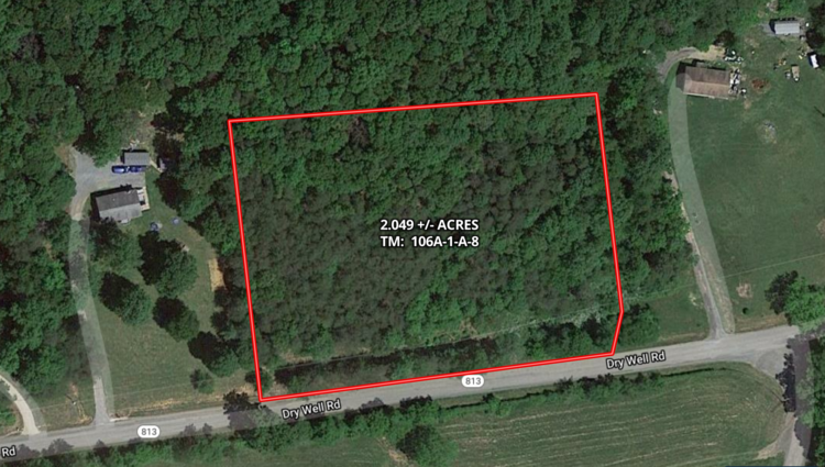 2 +/- Acre Wooded Lot in Rockbridge County, VA--ONLINE ONLY BIDDING!!