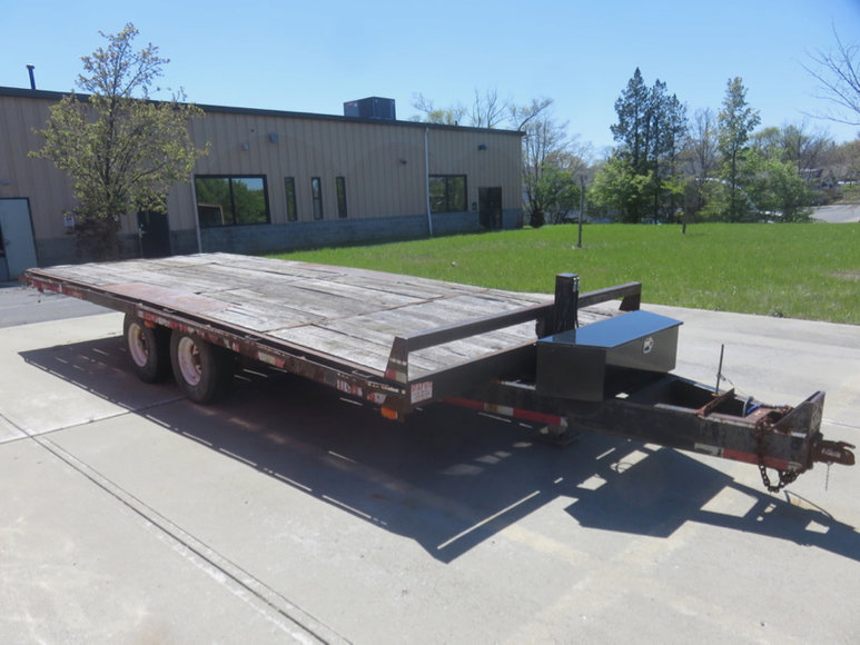 Trailer, Pallet Racking, Tools, Furniture and More!