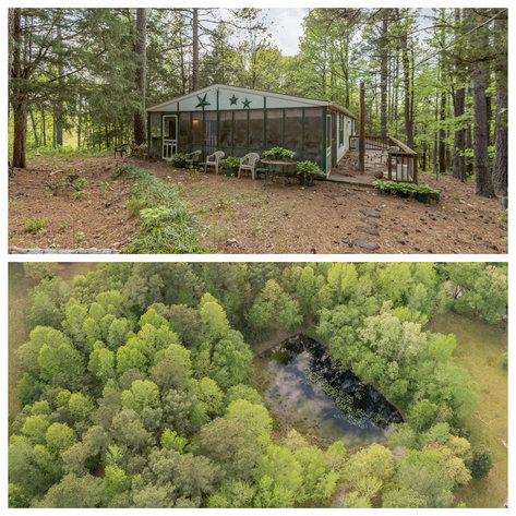3 BR/2 BA Home w/Pond on 5 +/- Wooded Acres in Brunswick County, VA